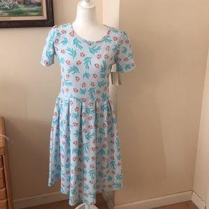 L LuLaRoe Amelia Dress E03 661